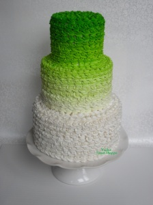 Summer Wedding Cake